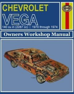 Haynes - Vega Owners Workshop Manual 70-74