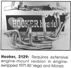 Hooker V8 Vega Conversion Kit